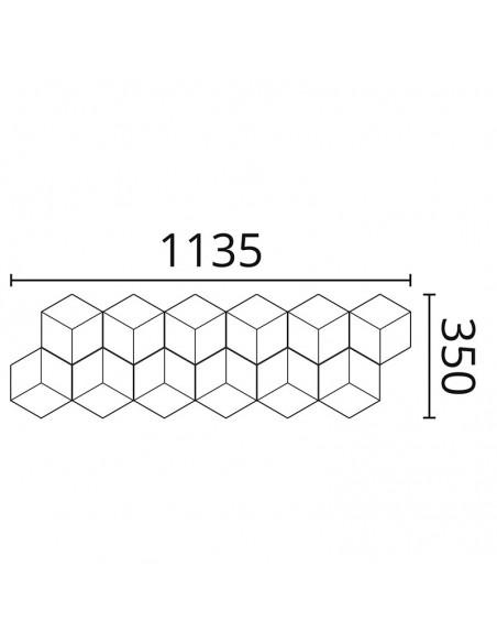 CUBE NMC стінова панель
