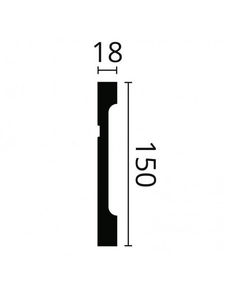 FD15 NMC плинтус