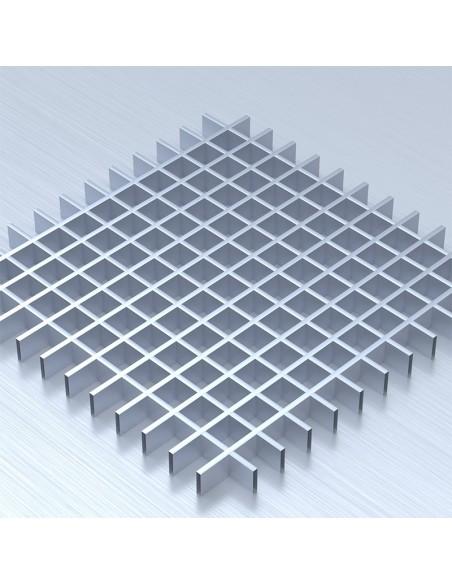 Грильято 50х50 алюміній