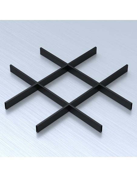 Грильято 200х200 черный подвесные потолки