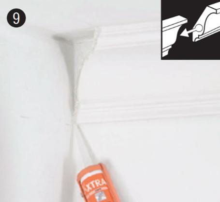 Используйте стыковочный клей