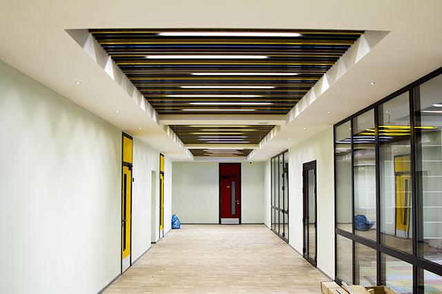Кубическая рейка подвесные потолки